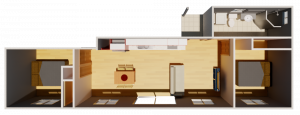 Granny Flat Fino top view