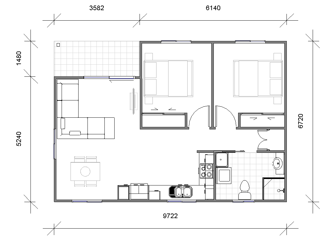 Granny Flat Seniore Floor_plan