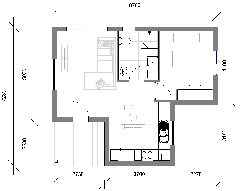 Granny Flat Tristani Floor_Plan