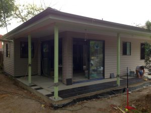 Granny-Flat-wrap-around-porch-at-tiling-stage-