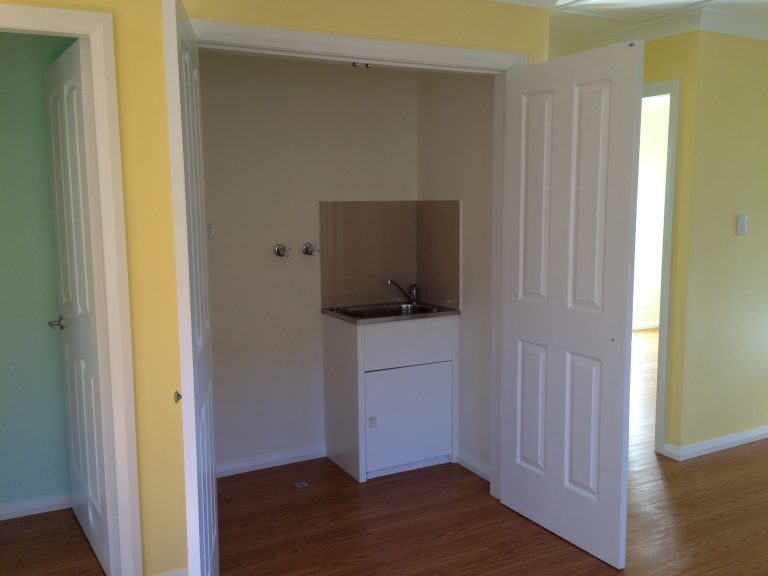 internal laundry room