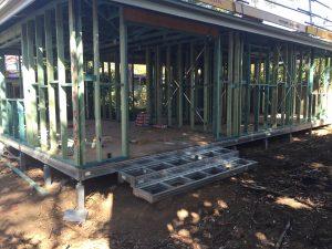 Granny Flats Frame suspended floor