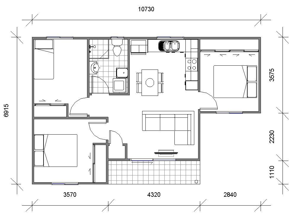 Granny Flats Maestro Floor plan