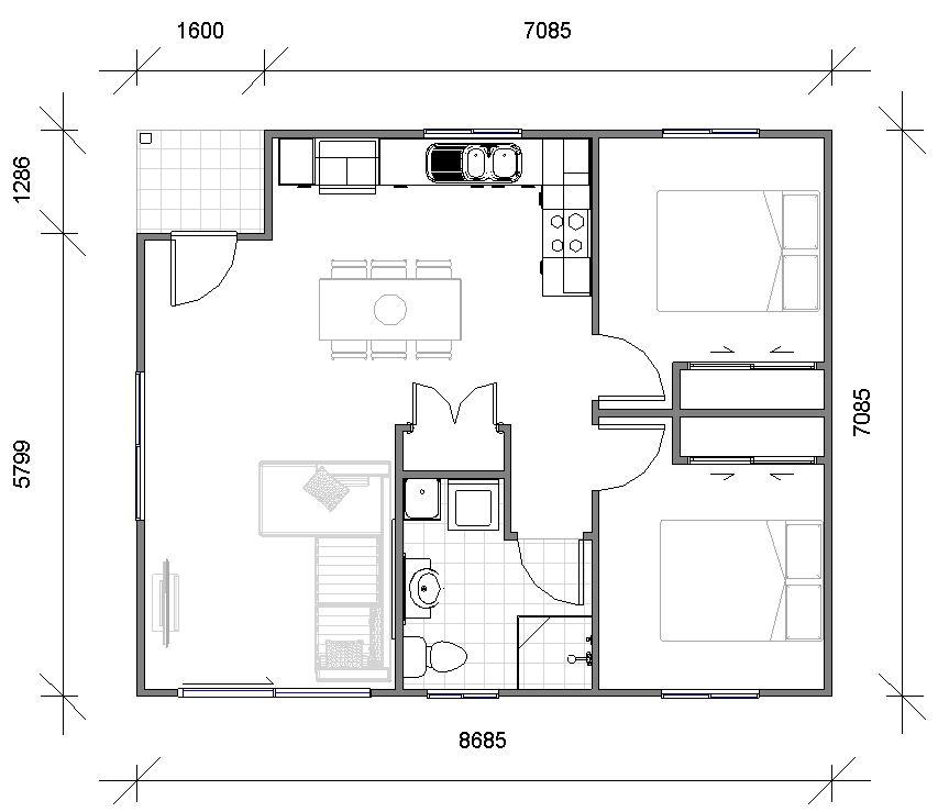 Regina Floor plan