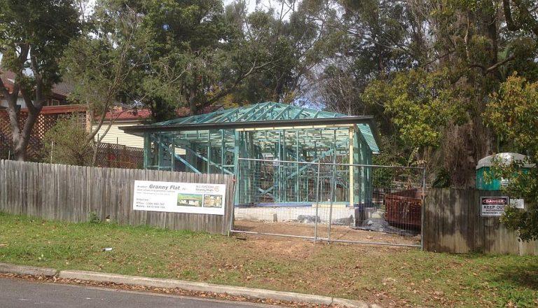 Sydney-Granny-Flat-framed-up