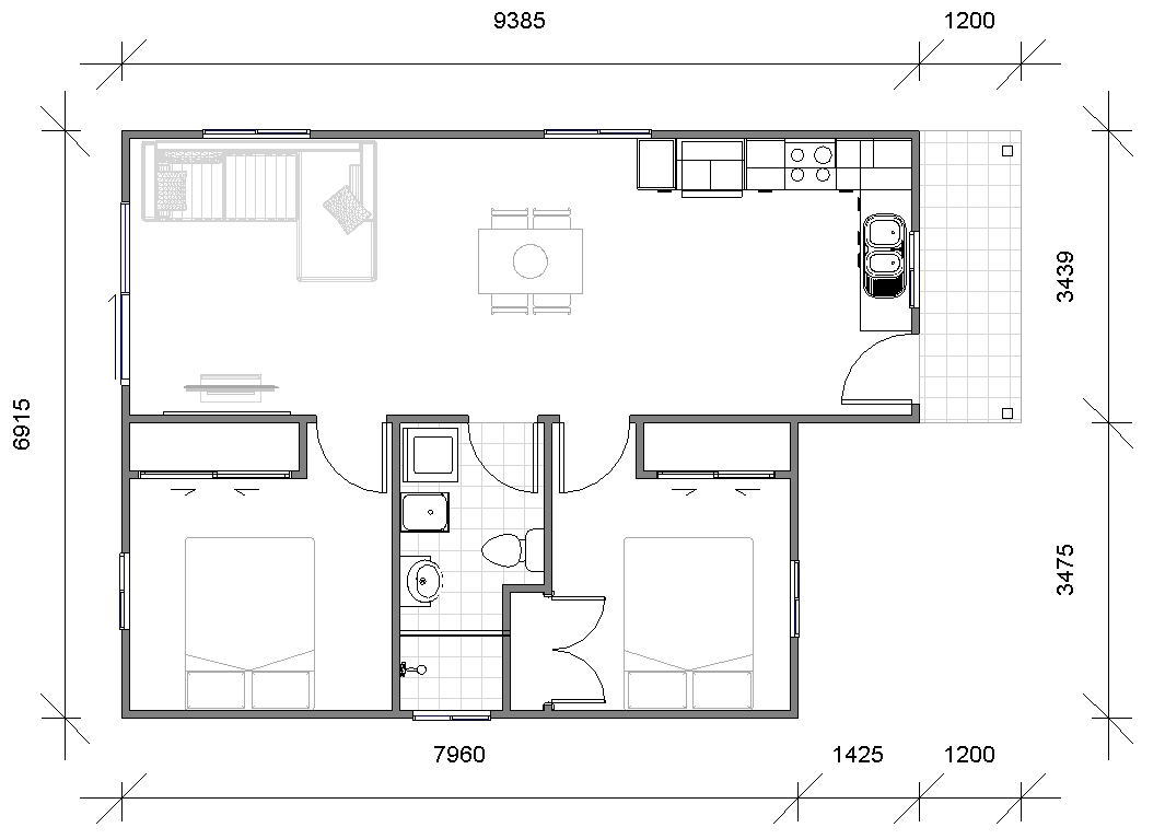 bello floor plan