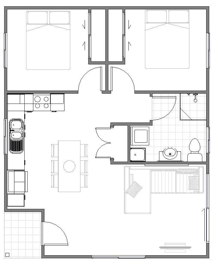 Granny Flats Regina Floor plan